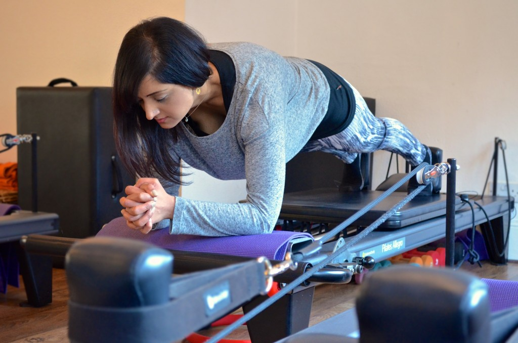 Reformer Pilates Exercise