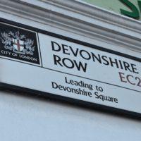 devonshire row