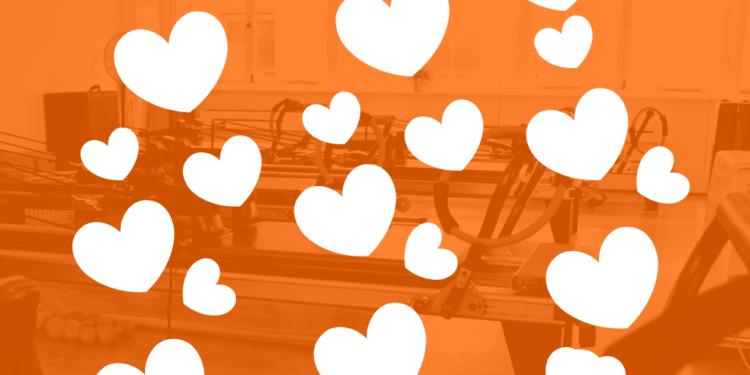 Valentine's Day special offer at Pilates Klinik